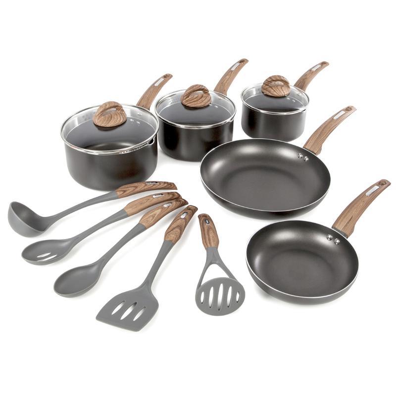 5 Piece Pouring Pan Set w/5 Tools Graphite