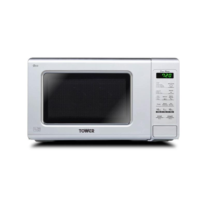Touch Control Microwave 800W 20Ltre Silver
