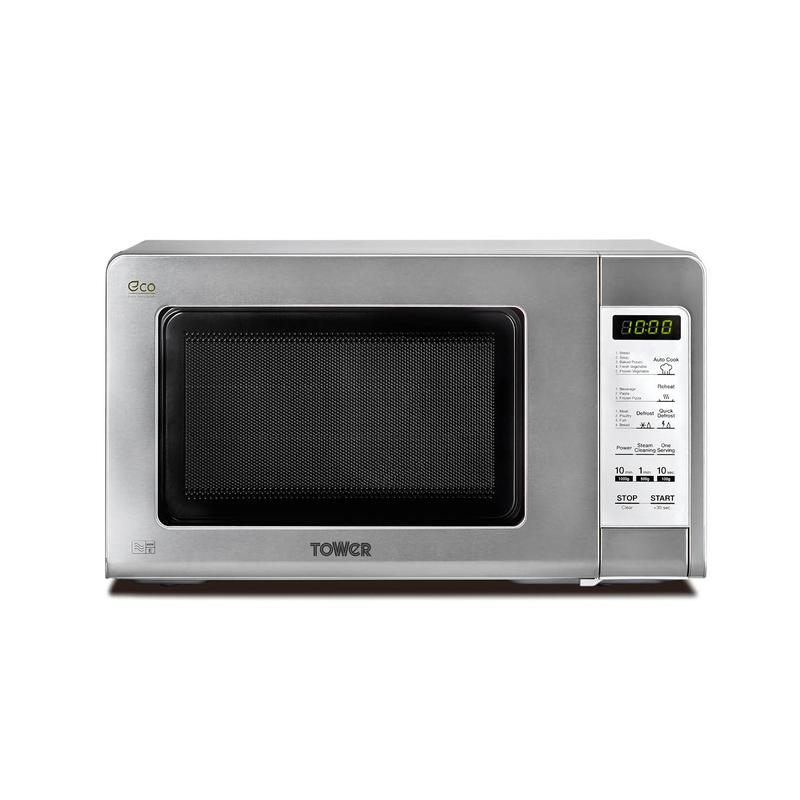 Touch Control Microwave 800W 20Ltre Stainless Steel