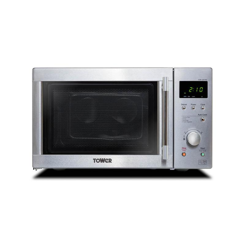 20 Litre Solo Microwave Oven Stainless Steel