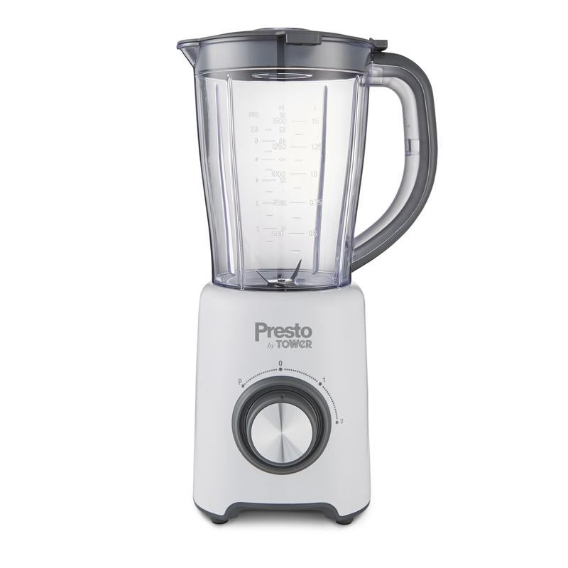 Presto 500W 1.5L Jug Blender and Grinder White