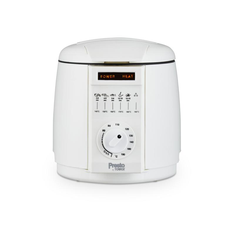 Presto 1L Deep Fat Fryer White