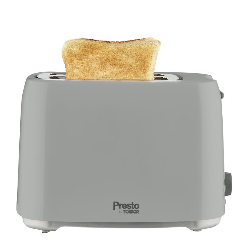 Presto 2 Slice Toaster Grey