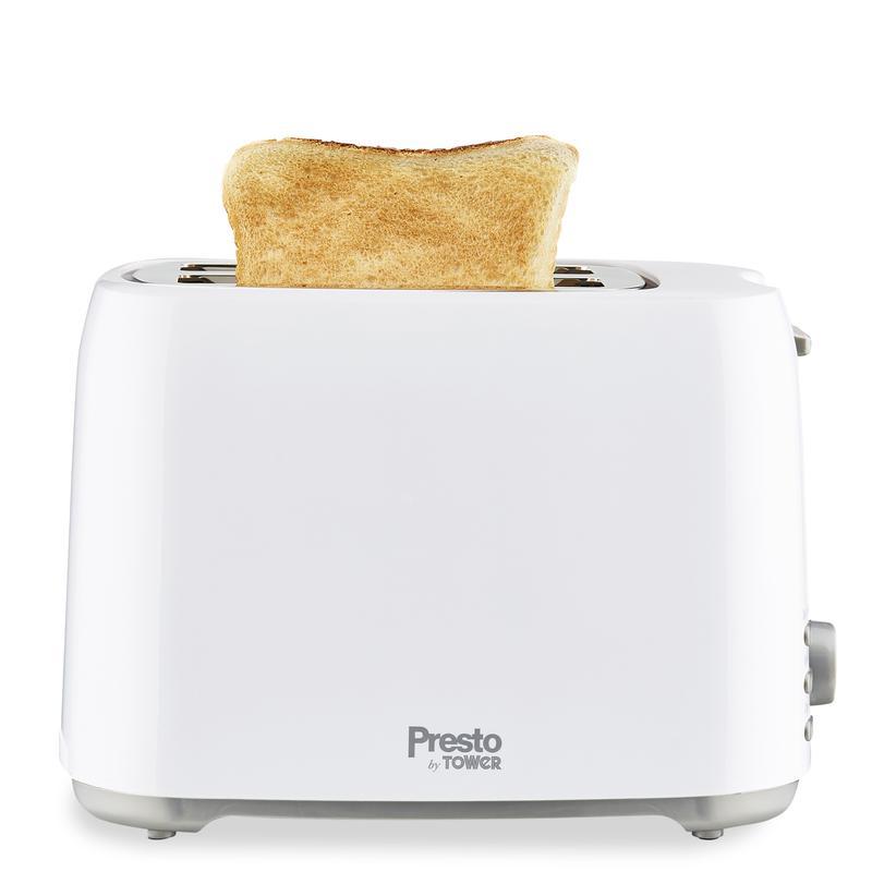 Presto 2 Slice Toaster White