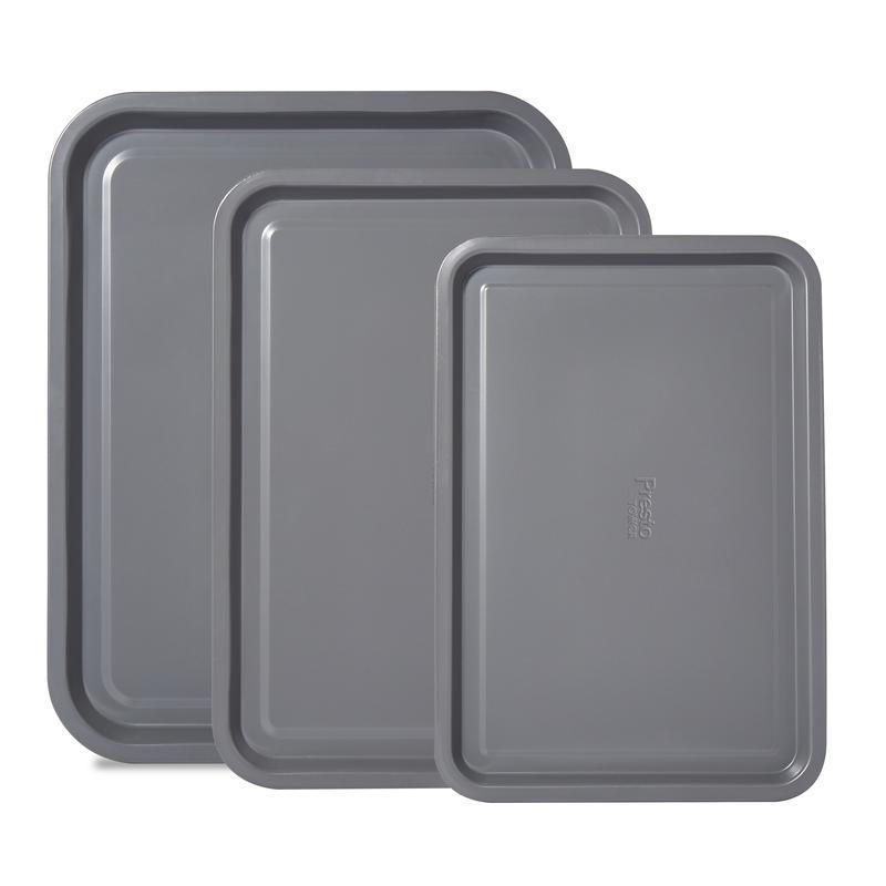 Presto by Tower 3 Piece Baking Tray Set 38/35/32cm