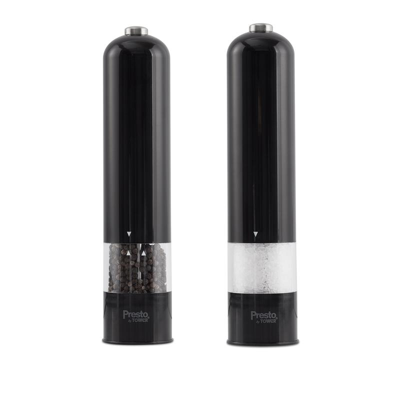 Presto by Tower Salt and Pepper Mill Set