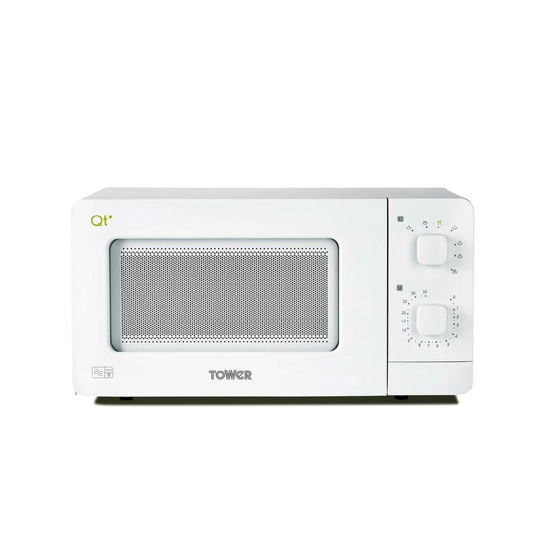 14 Litre Manual Control Microwave Oven White