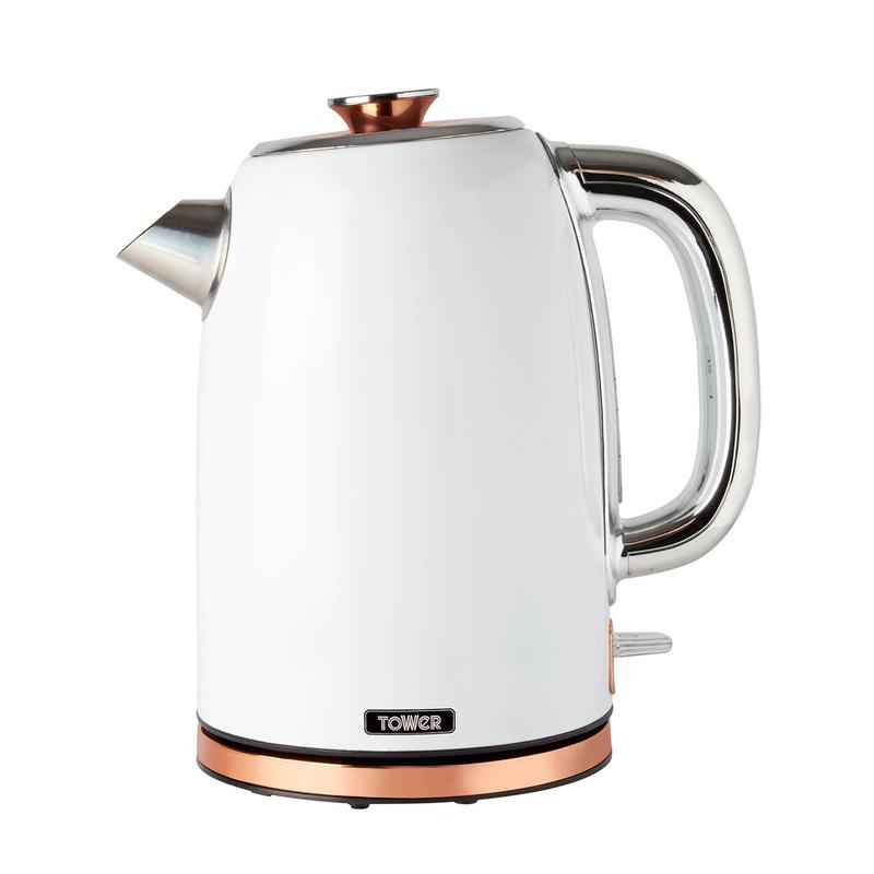 1.7L Stainless Steel Kettle White