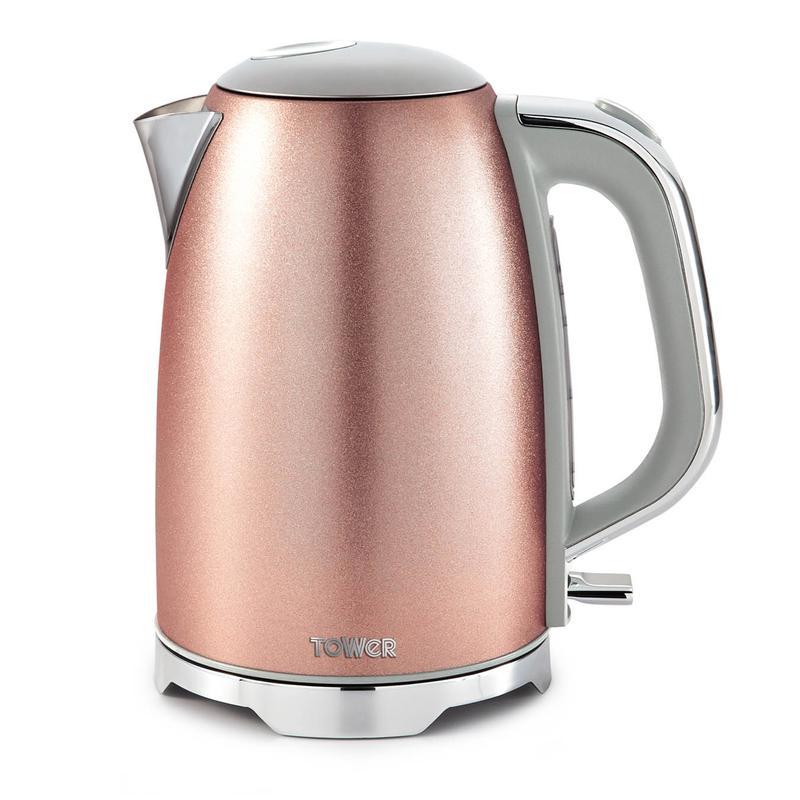 Glitz 3KW 1.7L Kettle Blush Pink