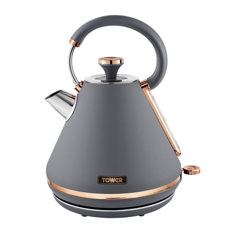 Cavaletto 3KW 1.7L Pyramid Kettle Grey
