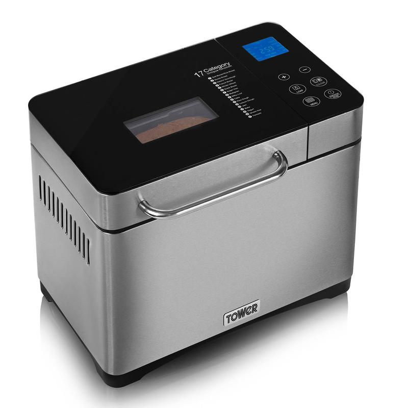 Gluten Free Digital Bread Maker with Nut Dispenser