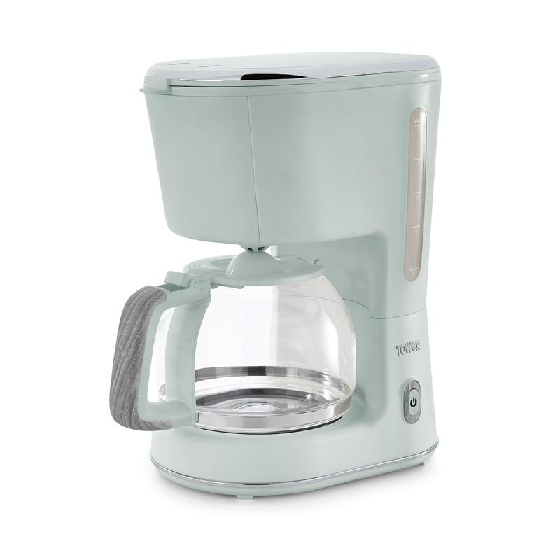Scandi 900W 1.25L Coffee Maker Sage Green