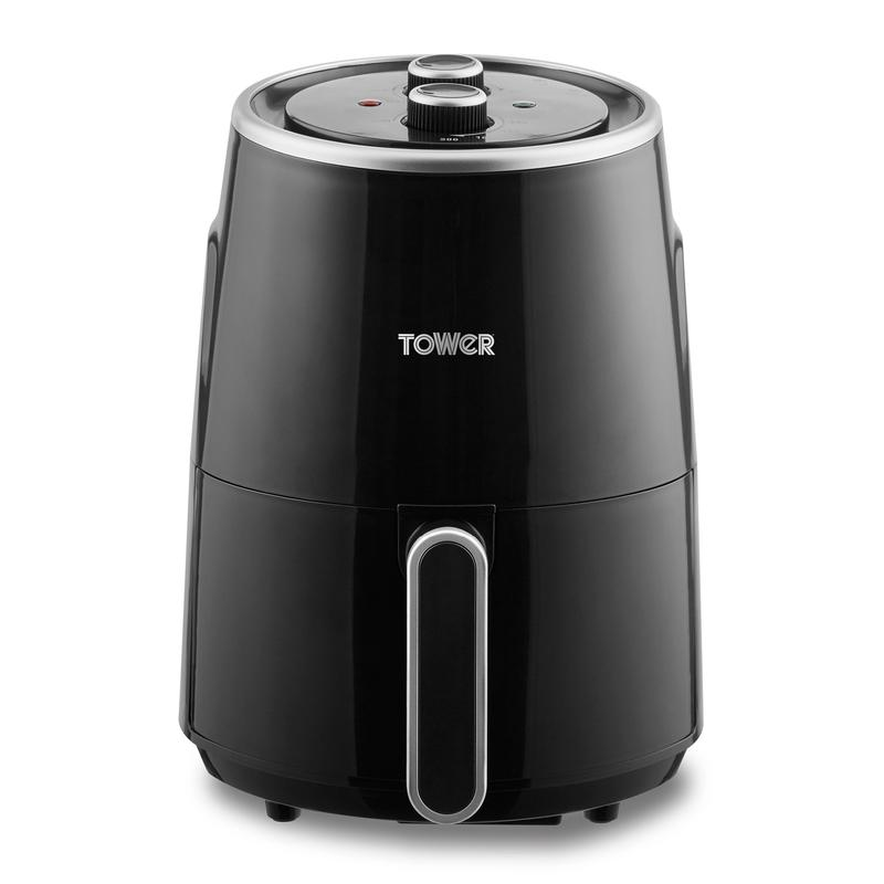 Vortx 1.8 Litre Manual Air Fryer Black