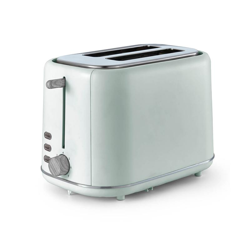 Scandi 2 Slice Toaster Sage Green