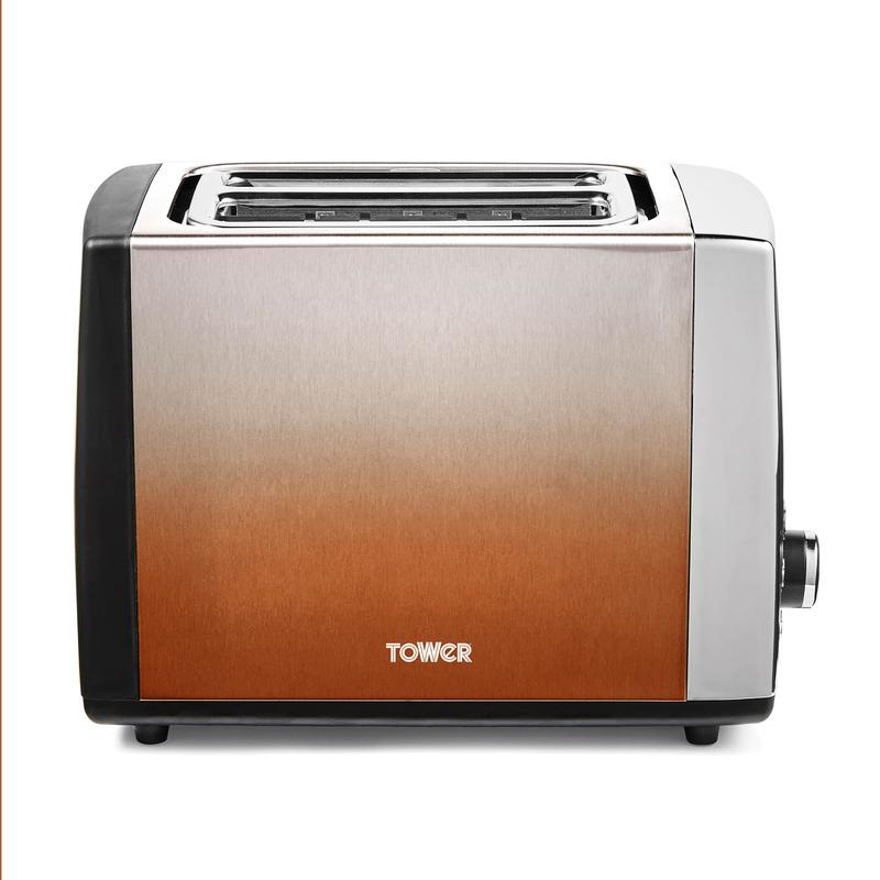Infinity Ombre 2 Slice Toaster Copper