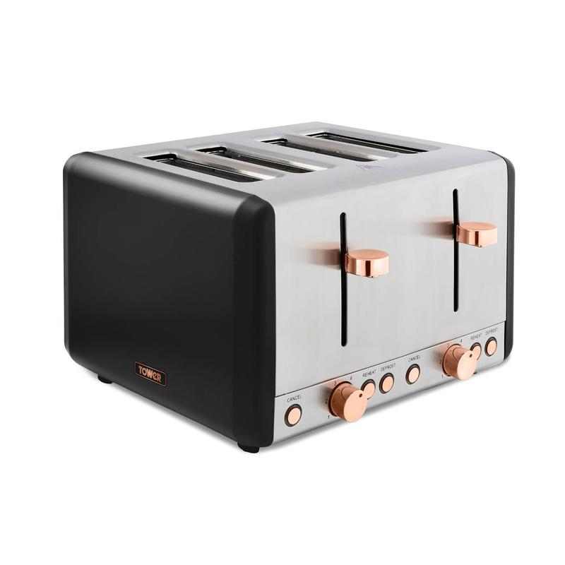 Cavaletto 1800W 4 Slice Toaster