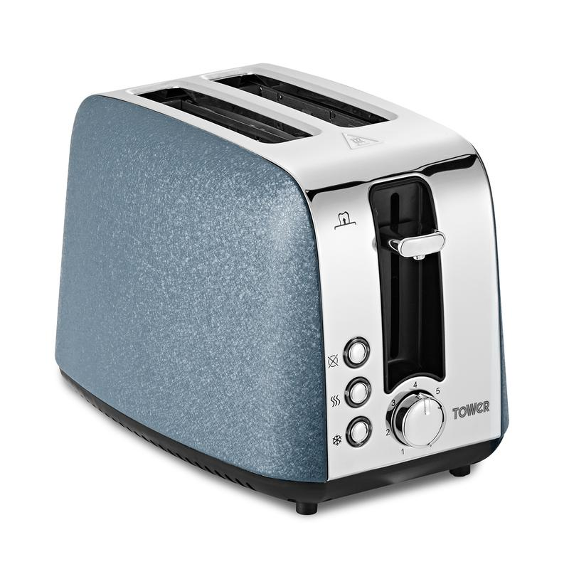 Ice Diamond 2 Slice Toaster Blue
