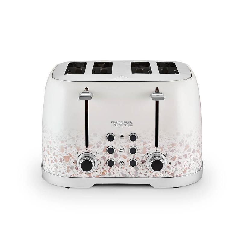 Terrazzo 1600W 4 Slice Toaster