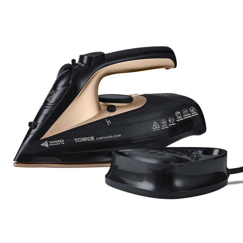 CeraGlide 2400W Cord Cordless Steam Iron