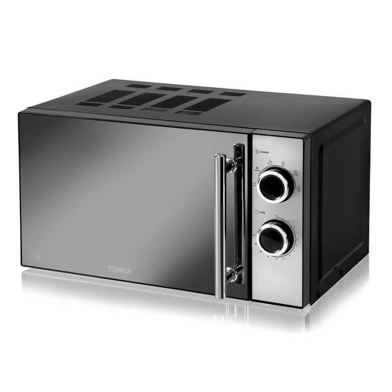 800W 20L Manual Microwave