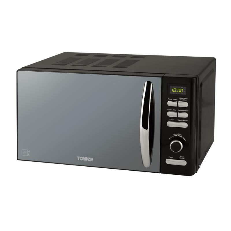 Infinity 800W 20L Digital Microwave Black