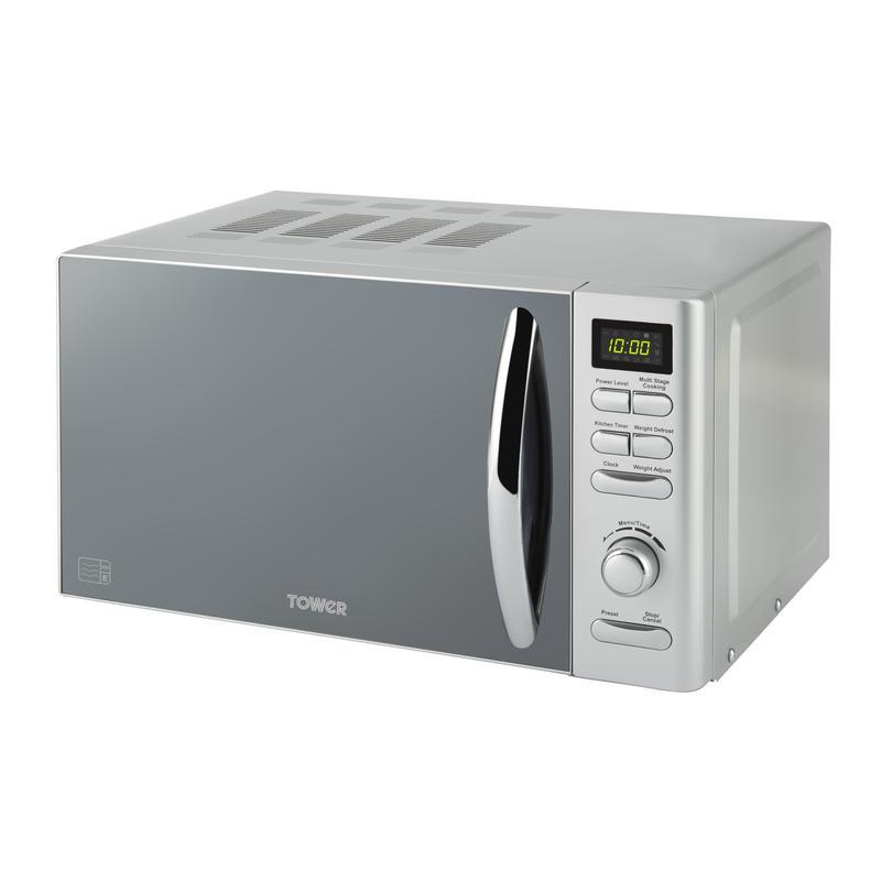 Infinity 800W 20L Digital Microwave Silver