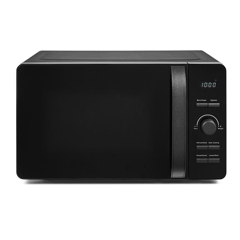 Glitz 800W 20L Digital Microwave Black