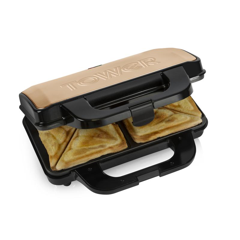 Infinity 900W Deep Fill Sandwich Maker Rose Gold