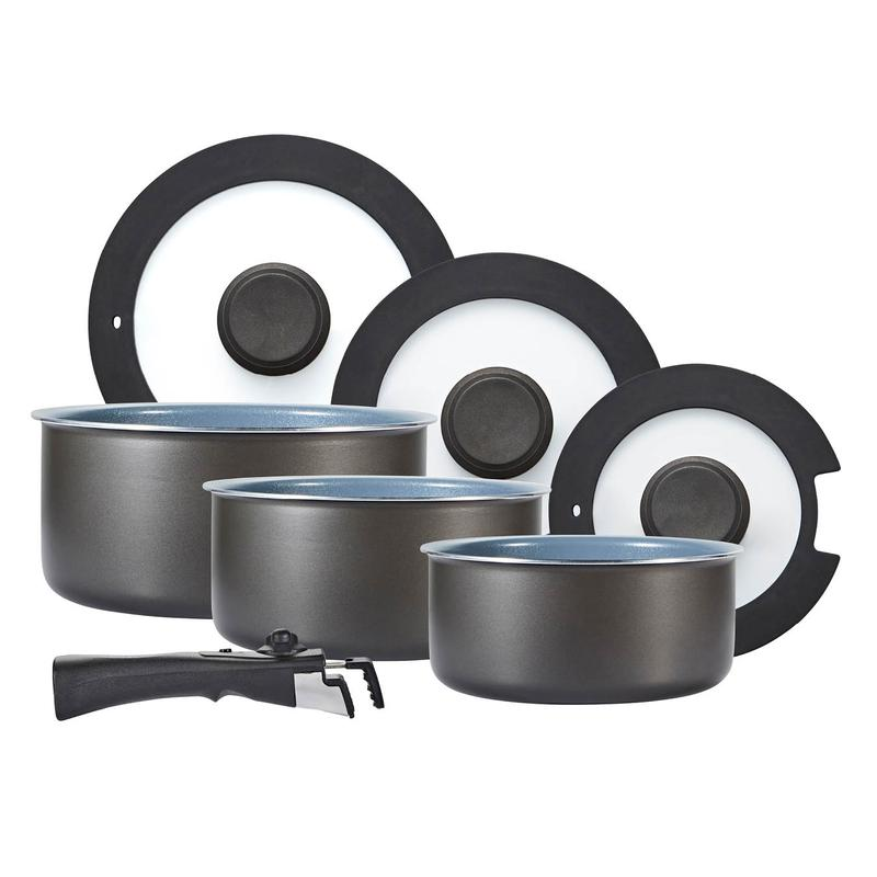 Freedom 7 Piece Cookware Set w/Detachable Handle