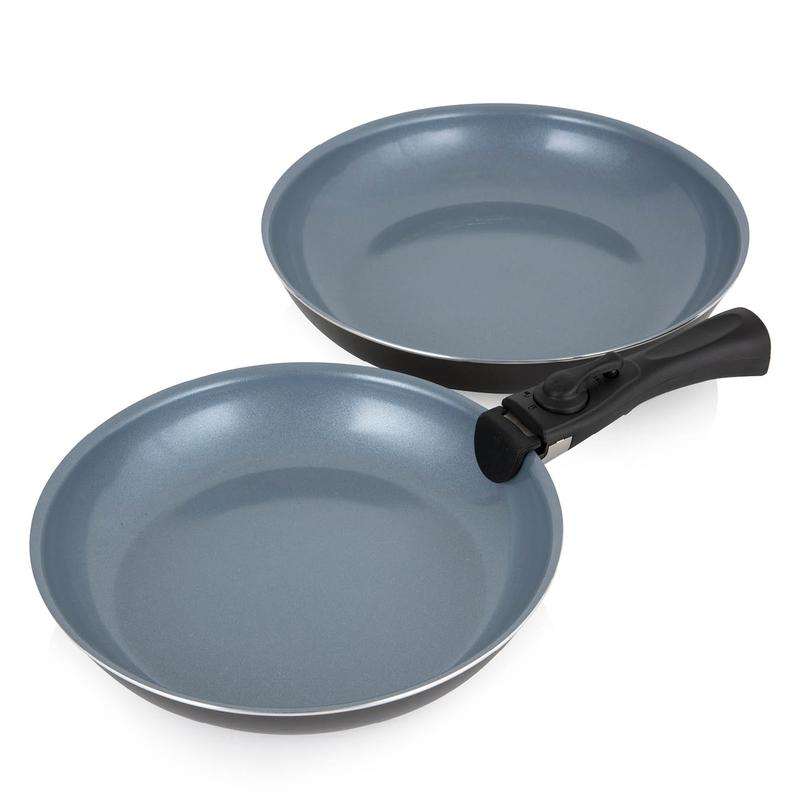 Freedom 3 Piece Frying Pan Set Graphite