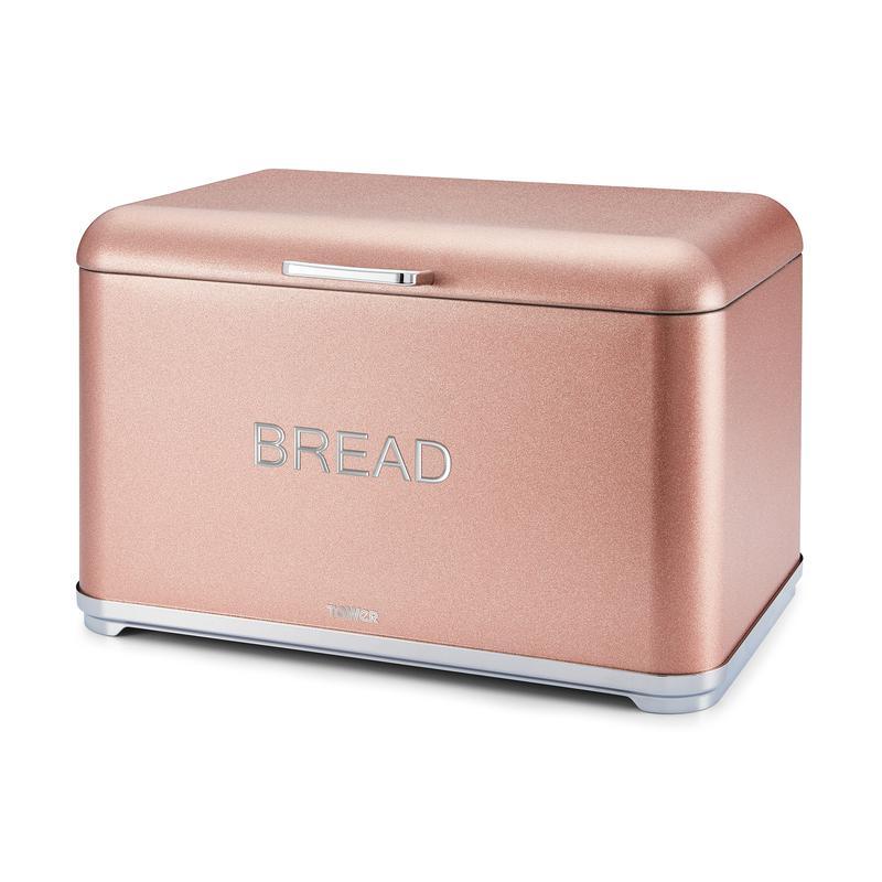 Glitz Bread Bin Blush Pink