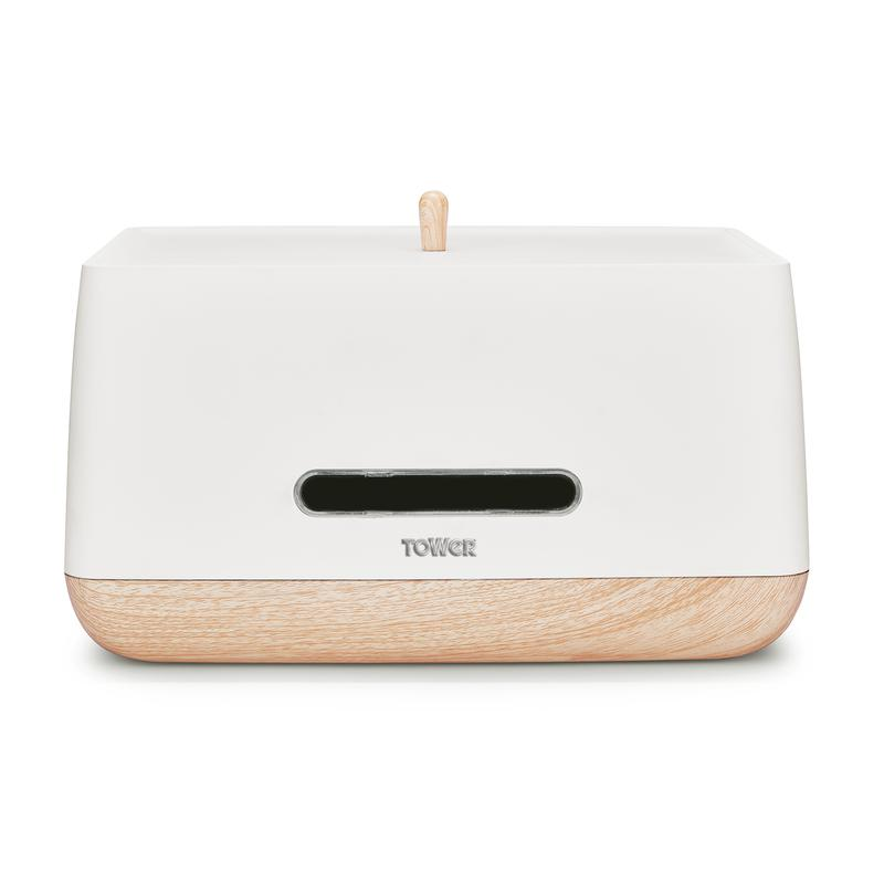 Scandi Bread Bin White