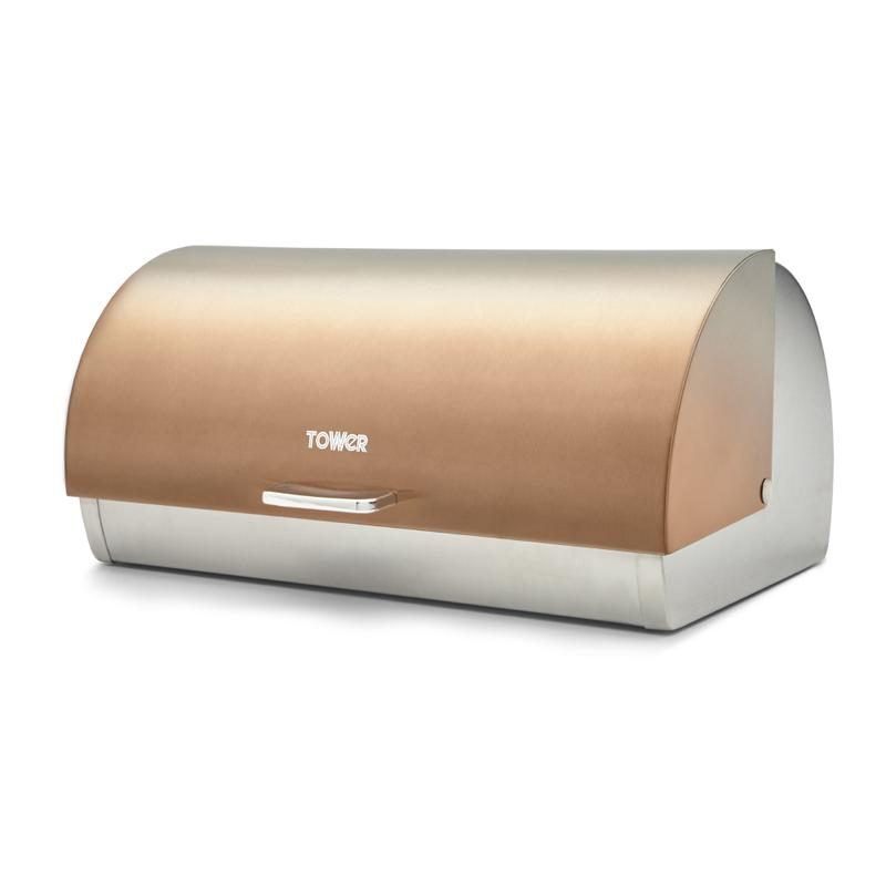 Infinity Ombre Roll Top Bread Bin Copper