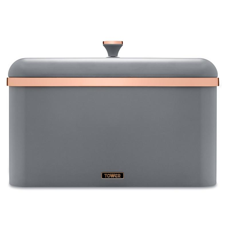 Cavaletto Bread Bin Grey