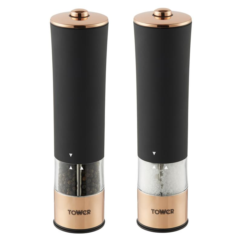 Rose Gold Electric Salt/Pepper Mill