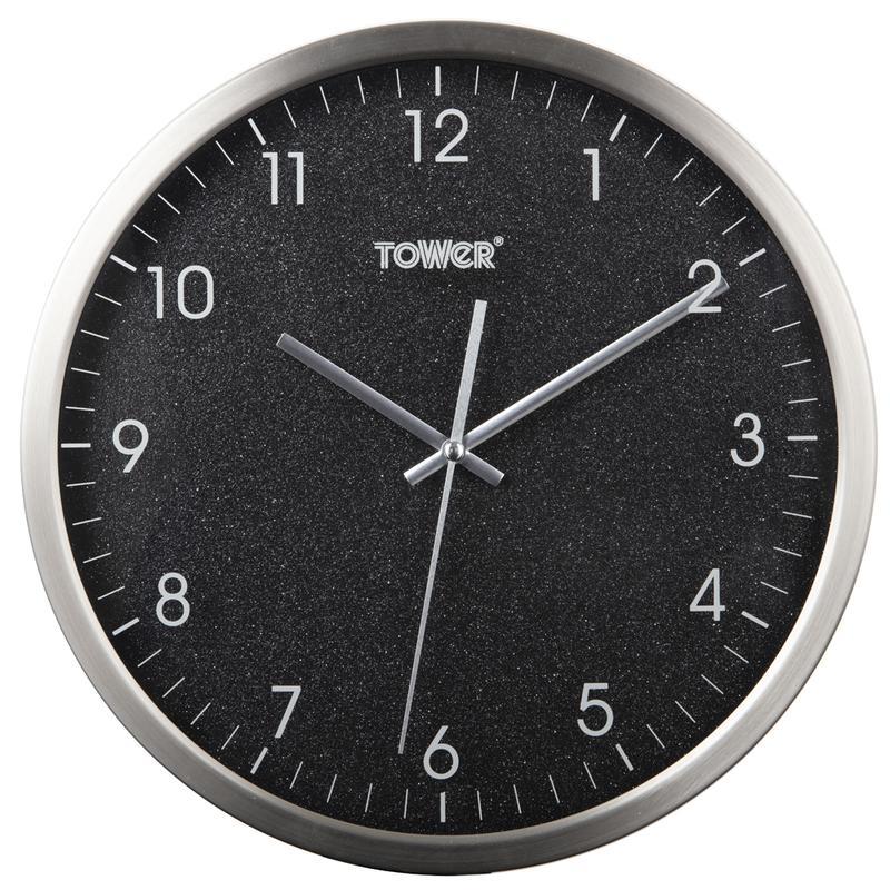 Glitz 30cm Wall Clock