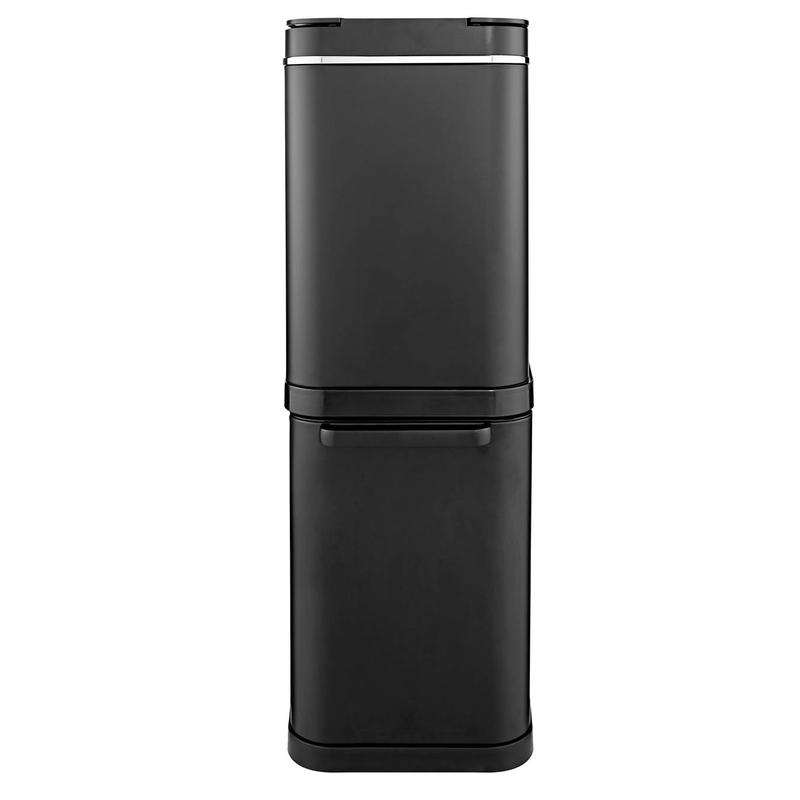 Freedom 50L Dual Recycling Bin Black