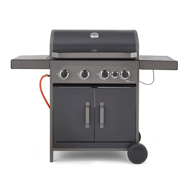 Stealth 4000 Four Burner BBQ w/ Side Burner